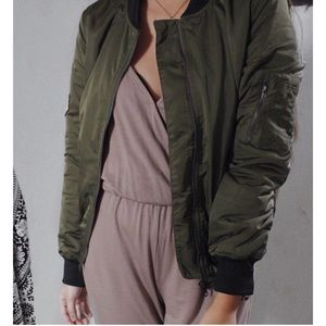 ONLY SMALLS & MEDIUMS - Olive Me Bomber